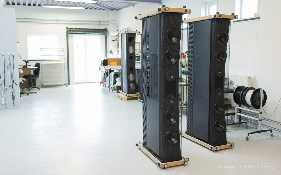 Gryphon Trident speakers