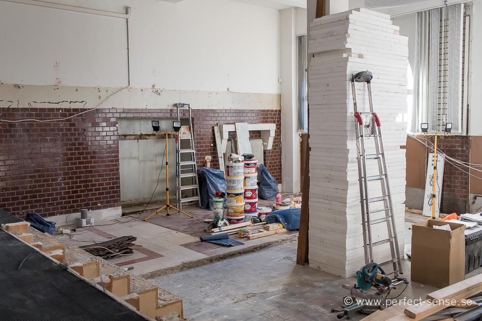 Våra nya showroom - Gamla brandstationen