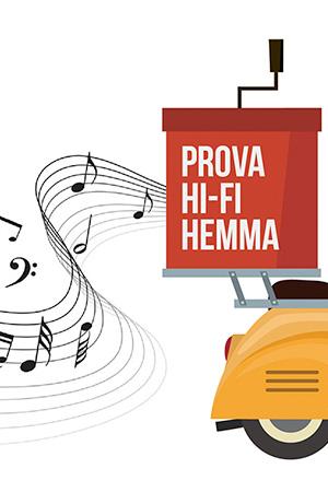 Prova Hi-Fi hemma