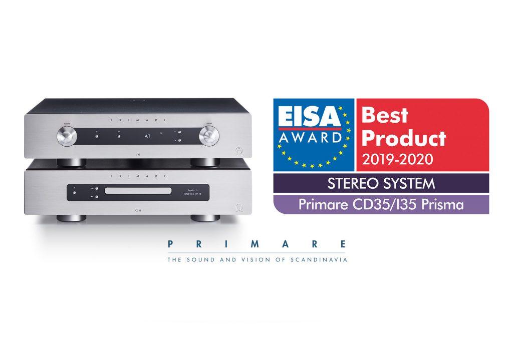 Primare EISA Best Product 2019-2020